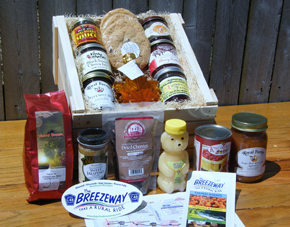 Michigan Gift Basket: Ride the Breezeway Treasure Chest